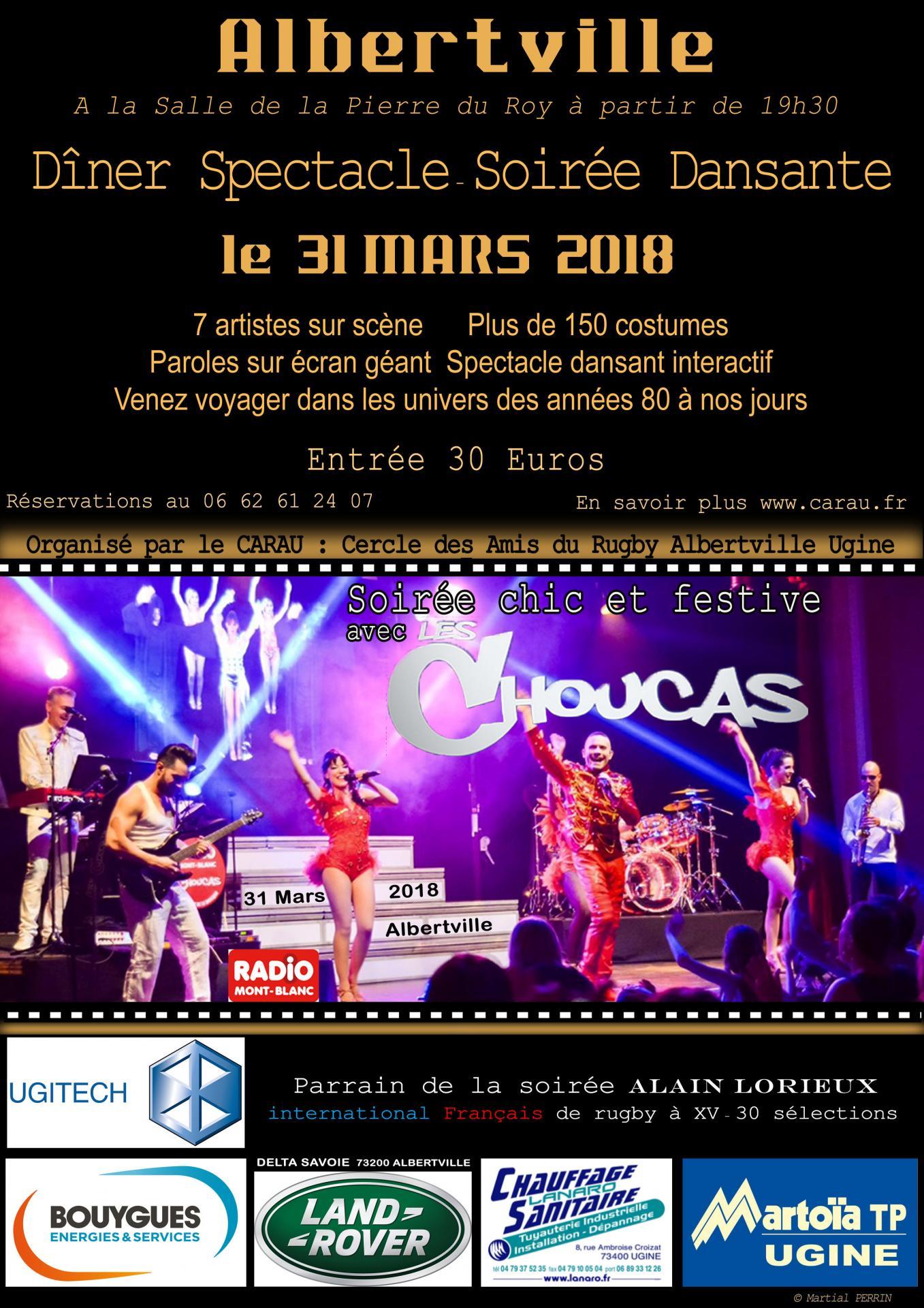 Affiche Les Choucas M. Perrin 2018