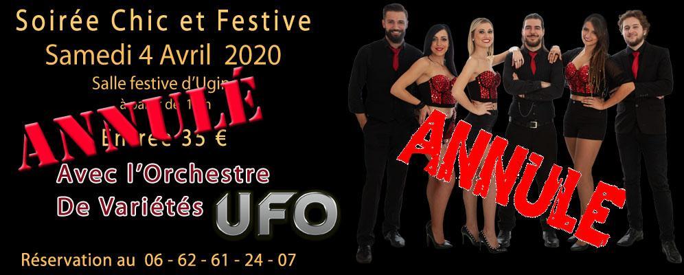 Banniere annule orchestre carau soiree ufo 2019 m perrin