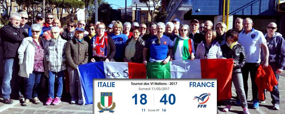 Banniere italie france martial