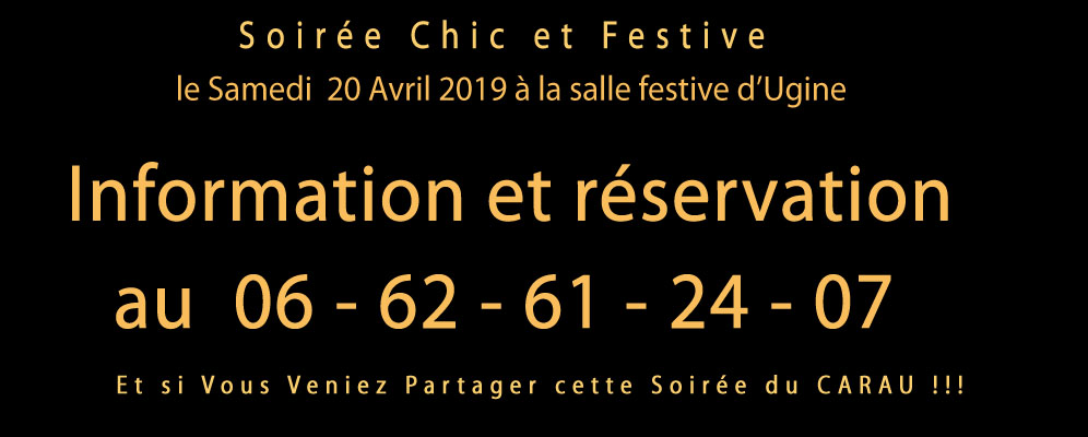 Banniere menu soiree ufo 2019 carau m perrin